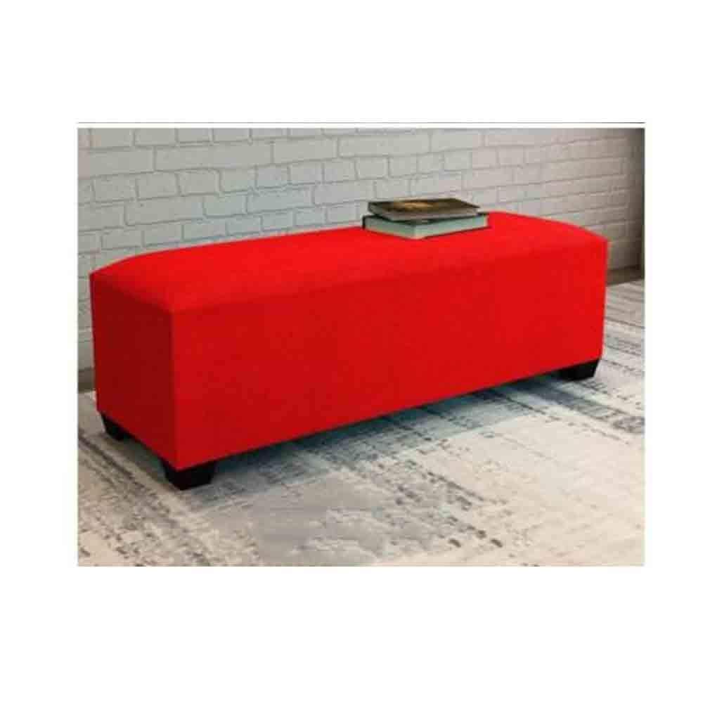 ECSD Fußbänke Einfache Moderne osmanische Sitzbank, Stoff Wohnzimmer ändern Schuh Bank Sofa Hocker Schlafzimmer Bettfußbank Hocker (Color : A02, Size : 120cm)