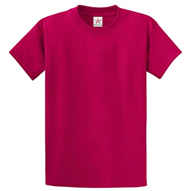 Plain HOT PINK T Shirt 100% rich soft ORGANIC cotton FUSCHIA T ...