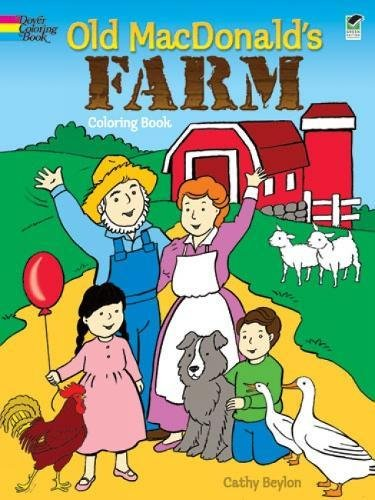 Old MacDonalds Farm Coloring Book Dover Coloring Books Sales Up 22