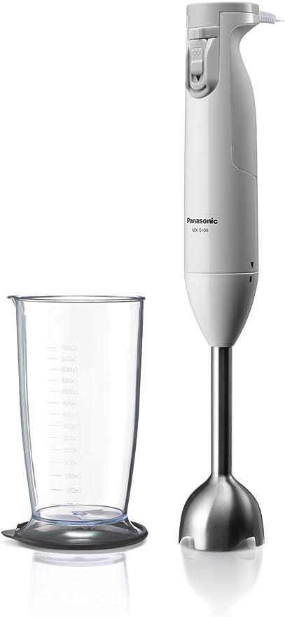 Panasonic batidora de mano blanco mx-s100-w: Amazon.es: Hogar