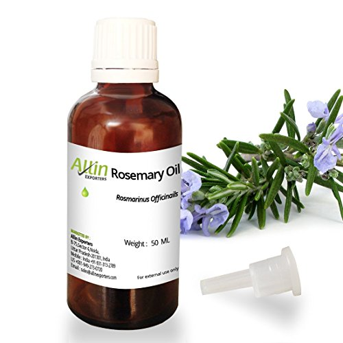 Allin Exporters Rosemary Oil – 50 ML – 100% Pure and Undiluted