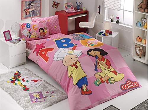 Hobby Caillou Quilt Cover Set/Duvet Cover Set Twin Size 100% Cotton 3 Pcs
