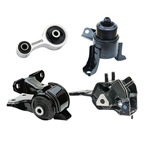 (K2068 Fits 2003-2008 Mazda 6 2.3L 2WD AUTO Motor & Trans Mount Set 4pcs : A6494, 3453, A6497, A4424)