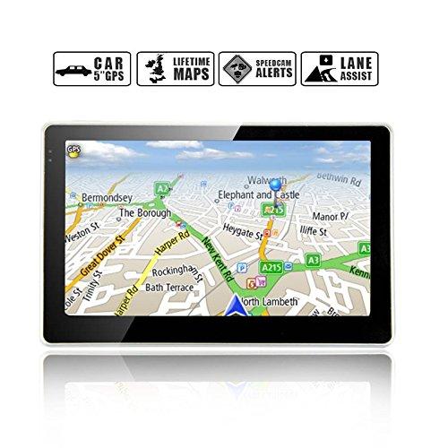 Noza Tec 7 Inch Car Gps Bluetooth Nat Sav With Uk Europe Maps: Gps With Europe Maps Loaded At Slyspyder.com