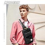 Canvas Chest Sling Bag for Men - Small Shoulder