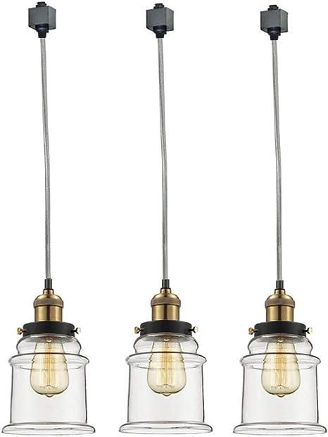 KIVEN H-Type Track Pendant Light,Mordern Stylish Hanging Lights Nordic Minimalist Kitchen Island Lighting Fixture,One-Light Green