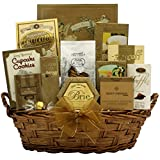 Festive New Years Wishes: Gourmet New Years Gift Basket