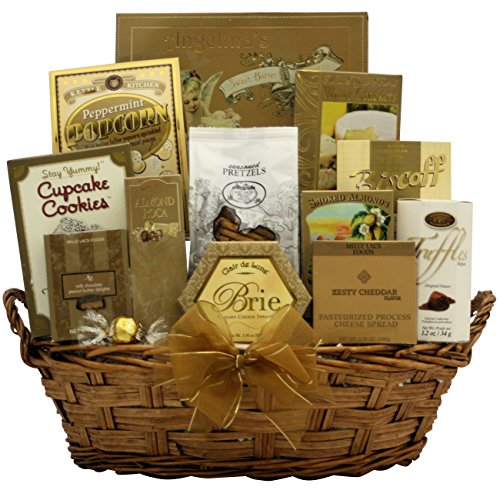 Festive New Year's Wishes: Gourmet New Year's Gift Basket