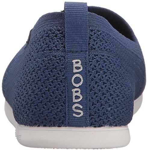 Skechers Bobs Damen Slipper Plush Lite Custom-Built Blau, Schuhgröße:EUR 39.5