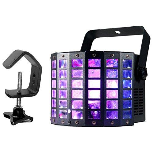 American DJ Mini Dekker LZR MIN535 Dual Effect Light w/ Clamp
