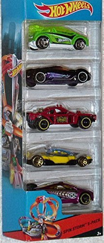 Hot Wheels, 2015 HW City, Spin Storm 5-Pack