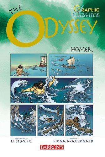 The Odyssey (Barron's Graphic Classics (Paperback)) [Homer] (Tapa Blanda)