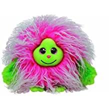 Ty Monstaz Collection Frizzy Pink Long Haired Monster