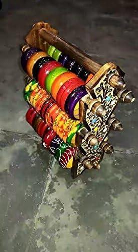 Cadeau pour No/ël ou danniversaire de vos proches Conception unique support en bois Six Rods pliable Bangle