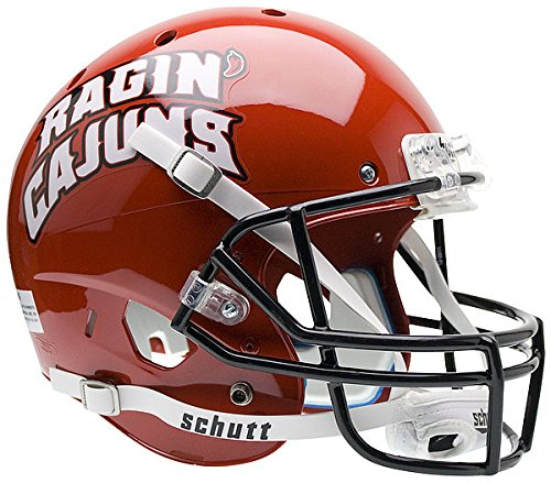 Mini Helmet Ragin Replica Cajuns - Schutt NCAA Louisiana-Lafayette Ragin' Cajuns Replica XP Full Size Helmet