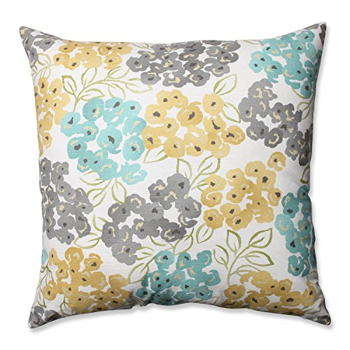 Pillow Perfect Luxury Floral Pool Floor Pillow, 24.5-Inch eHouseholds.com