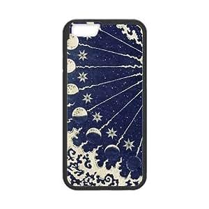 Sun Moon Pattern CUSTOM Hard Case Iphone 5/5S
