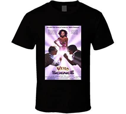 weird science cool 80 s comedy vintage classic movie poster fan t