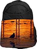 Rikki Knight UKBK Duck Silhouette by Water Tech BackPack - Padded for Laptops & Tablets Ideal for School or College Bag BackPack