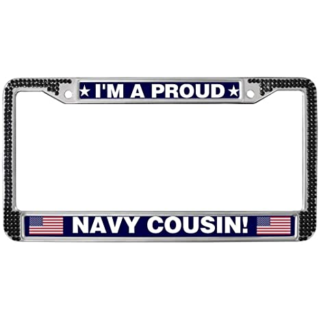 Made In Massachusetts Chome Metal License Plate Frame Tag Holder