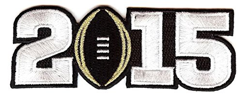 NCAA 2015 Champ Patch, Black, Small