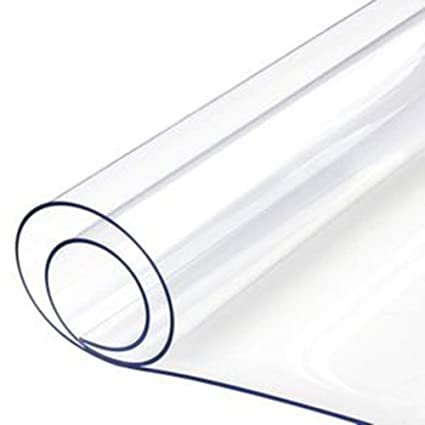 ZHANGGUOHUA Espesar Paño Transparente PVC Pegamento Suave ...