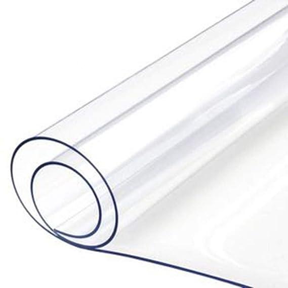 ZHANGGUOHUA Espesar Paño Transparente PVC Pegamento Suave Lavado de ...