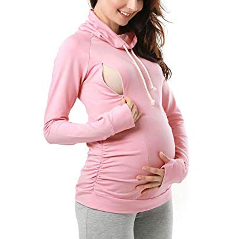 50%OFF Mutterschaft Pullover Hoodie Mutter Mutterschaft