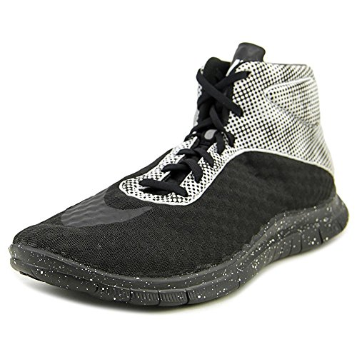 (Nike Free Hypervenom Mid QS Men US 9 Black Running Shoe)