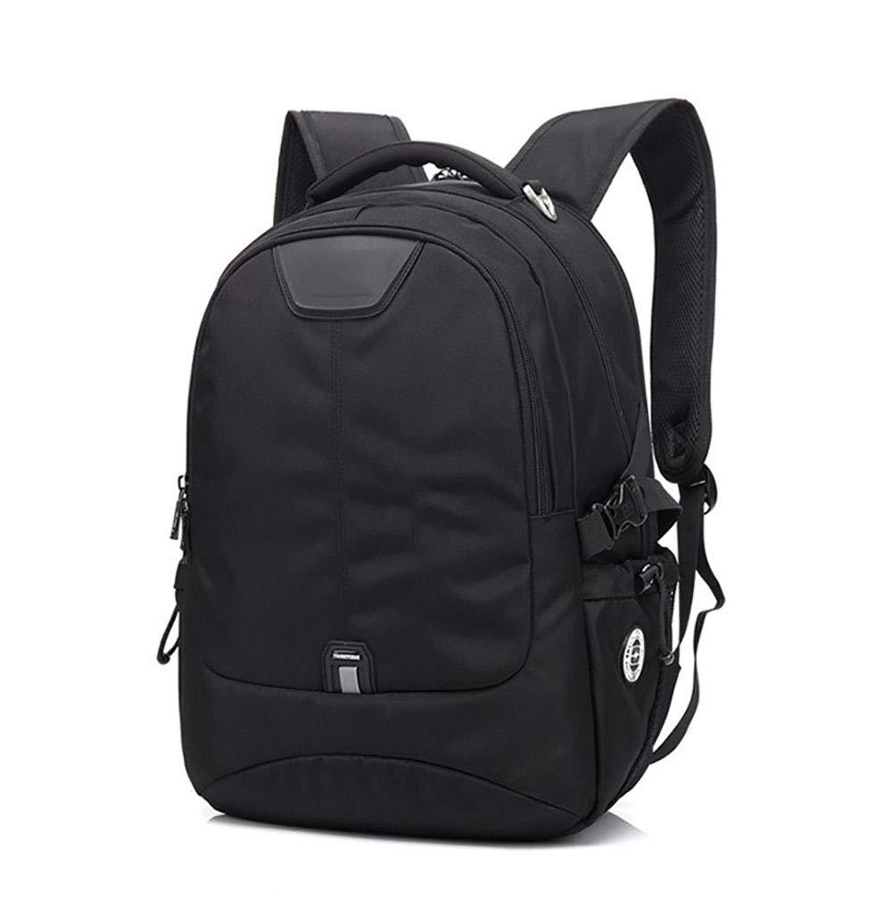 AY-MBJDFX アウトドア旅行用バックパック、 登山/キャンプ/出張のリュックサック、 USBインターフェース、 ポリエステルライニング ナイロン布、 通気性/耐摩耗性 (色 : 黒, サイズ さいず : L l) L l 黒 B07H9Y1QCW