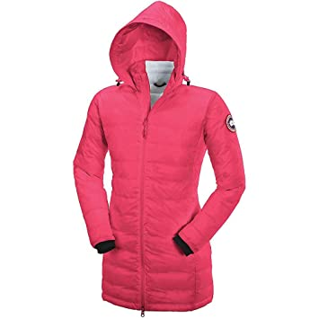 canada goose camp hooded jacket rose women's