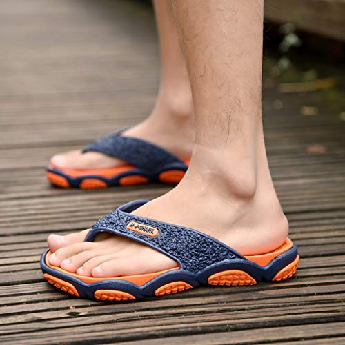 Geetobby Men's and Women's Flip Flop Shower Rubber Sandals Flip Flops Shoes by Geetobby Men's Shoes (Image #5)