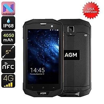 Generico AGM A8 Rugged Phone - 4G USA Bandwidths, IP68, 5 Inch ...