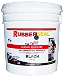 Rubberseal Liquid Rubber Waterproofing and Protective Coating -- Roll On 2 Gallon BLACK