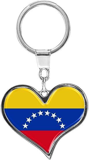 metALUm Llavero de metal/Bandera Venezuela / 6611079S: Amazon.es: Equipaje