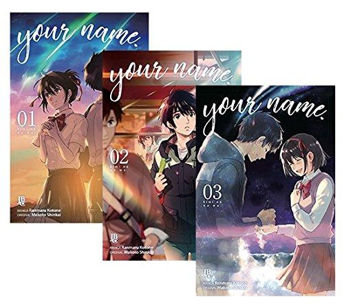 Coleção Your Name - Volume de 1 à 3.