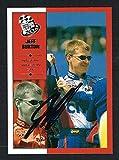 Jeff Burton #6 signed autograph auto 2002 Press Pass NASCAR Trading Card