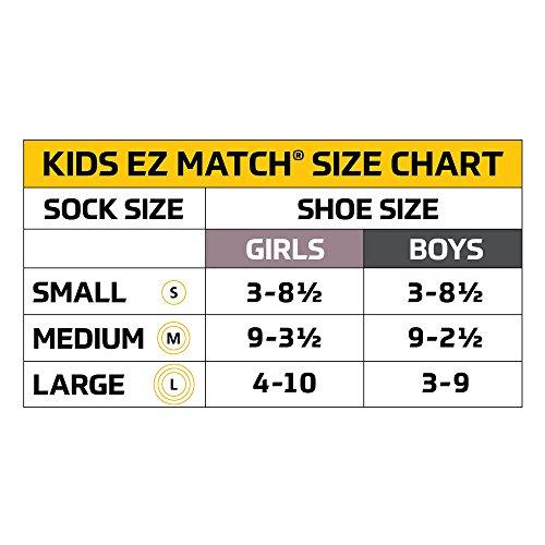 Gold Toe Little Boys' Patterned Crew Socks 3-Pack, Sharks, Shoe Size: 9-2.5 by Gold Toe (Image #4)