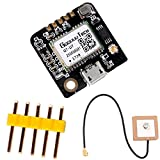 Geekstory GT-U7 GPS Module 51 Microcontroller GPS Compatible NEO-6M STM32 with EEPROM Active Antenna for Arduino Navigation Satellite Positioning Vehicle Monitoring