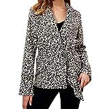 Cheap Jackets Sport Yoga V-Neck Leopard Print Coat Cardigan Parka AfterSo Womens