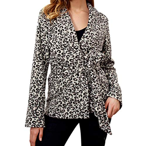 Cheap Jackets Sport Yoga V-Neck Leopard Print Coat Cardigan Parka AfterSo Womens by AfterSo Apparel