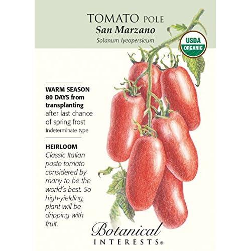 """San Marzano"" Organic Tomato Seeds for sale"