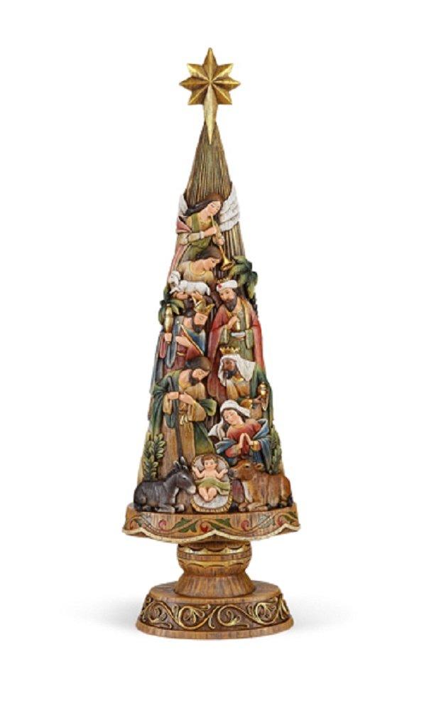 30'' Nativity Christmas Tree