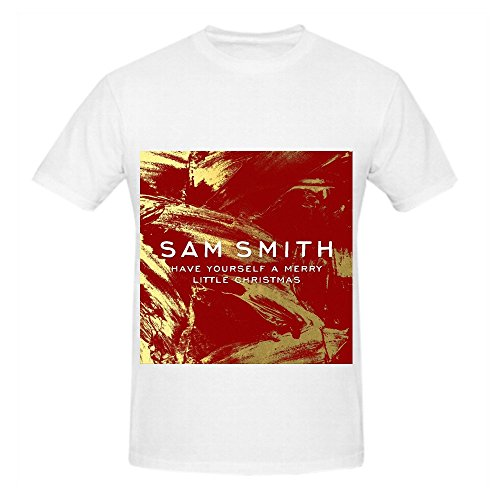 sam-smith-have-yourself-a-merry-little-christmas-rock-men-slim-fit-shirts-white