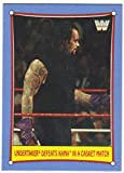 #1: 2017 Topps Heritage WWE Bizarre SummerSlam Matches #2 Undertaker Defeats Kama in a Casket Match