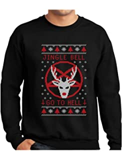 Satanic Christmas Sweater.Amazon Com Merry Antichristmas Satan Claus Satanic Ugly