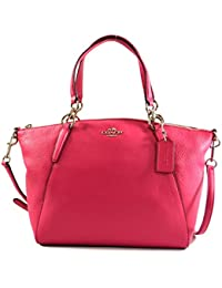 Leather Small Kelsey Cross Body Bag Pink