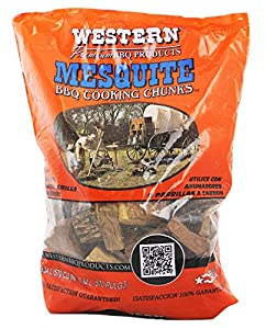 WESTERN 78054 Mesquite Cooking Wood Chunks (2) by WESTERN