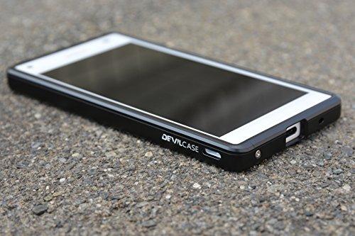 Sony Xperia Z3 Compact DevilCase Aluminum Alloy Bumper Case (Gold) - 1
