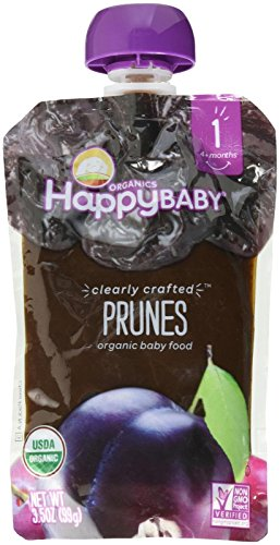 Happy Family Stage 1, Prunes, 3.5 Ounce